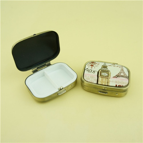 Glass Pill Box/ Daily Pill Box