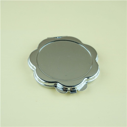 sunflower shaped compact mirror/fogless mirror