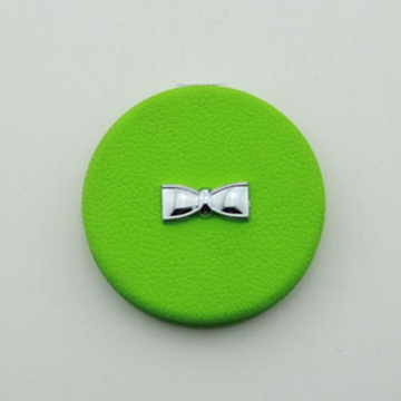 PU Compact Mirror/Bow Design