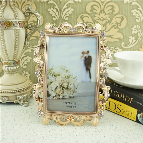 Art metal photo frame/personalized picture frames