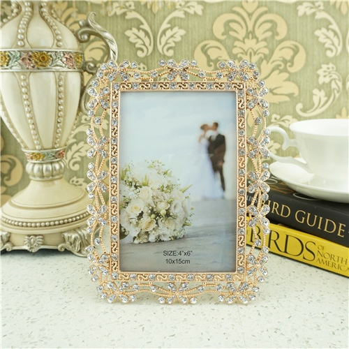 Pastoral style metal picture frame/picture frame manufacturers