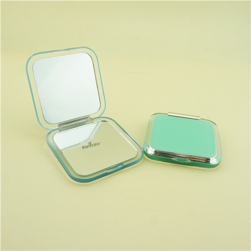 Square compact mirror/Double-sided compact mirror