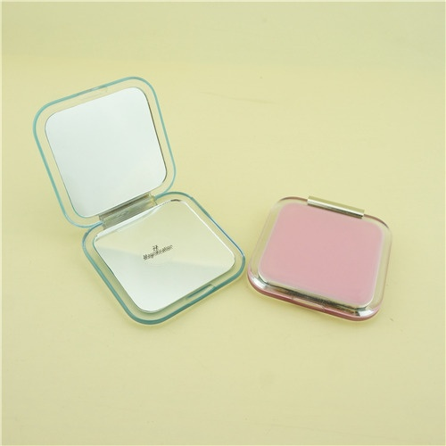 Personalized pocket mirror/Pink compact mirror