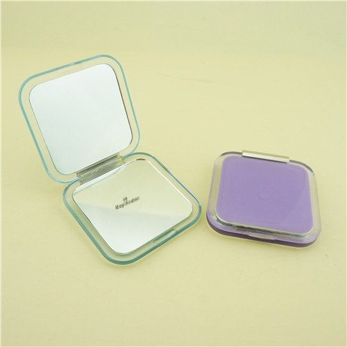 Folding makeup mirror/Purple compact mirror