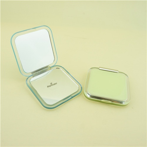 Yellow compact mirror/Folding makeup mirror