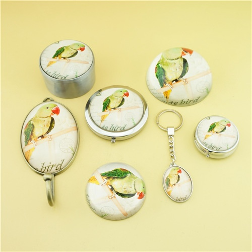 Bird series fashion crystal gift set