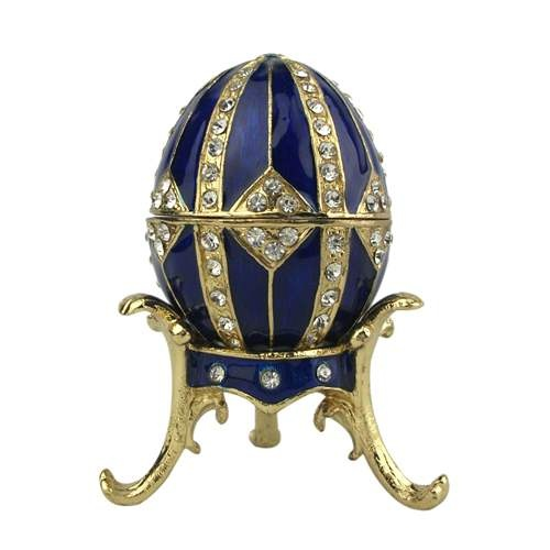 Russian faberge style egg/Pretty trinket box