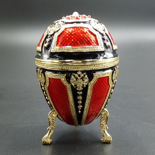 Faberge egg/Engraved jewelry box