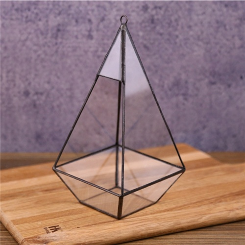 Hot selling wholesale Indoor Plant Geometric Glass Terrarium